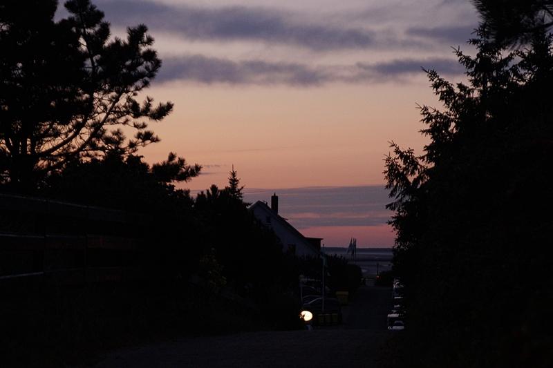 Sonnenuntergang Wittdün Abend/ Nacht Amrum