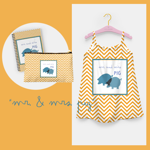 printed designs for kids, chevron pattern at LiveHeroes and RedBubble