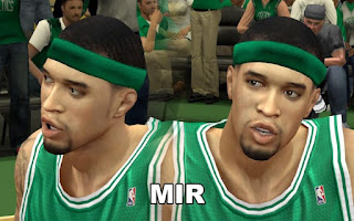 NBA 2K13 Boston Celtics Cyber Face Pack Courtney Lee
