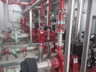 Bảo trì bảo dưỡng hệ thống bơm tại KCN nghiệp hải phòng
