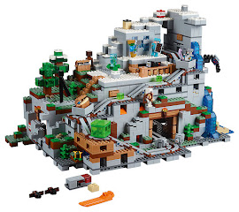 Minecraft The Mountain Cave Lego Set