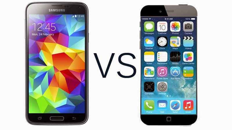 iphone 6 vs galaxy s5 iphone 6 vs samsung galaxy s5 171 gadgets and digital 17592