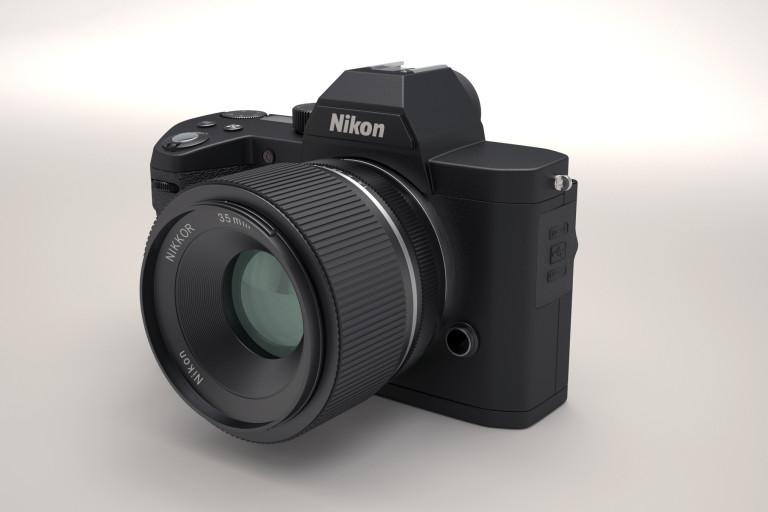 Фантазия на тему беззеркальной камеры от компании Nikon
