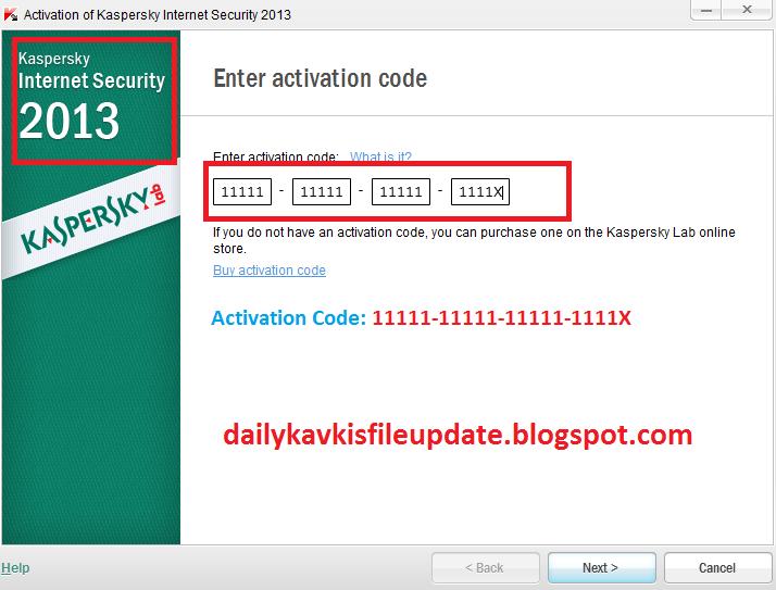kaspersky internet security 2013 latest keys