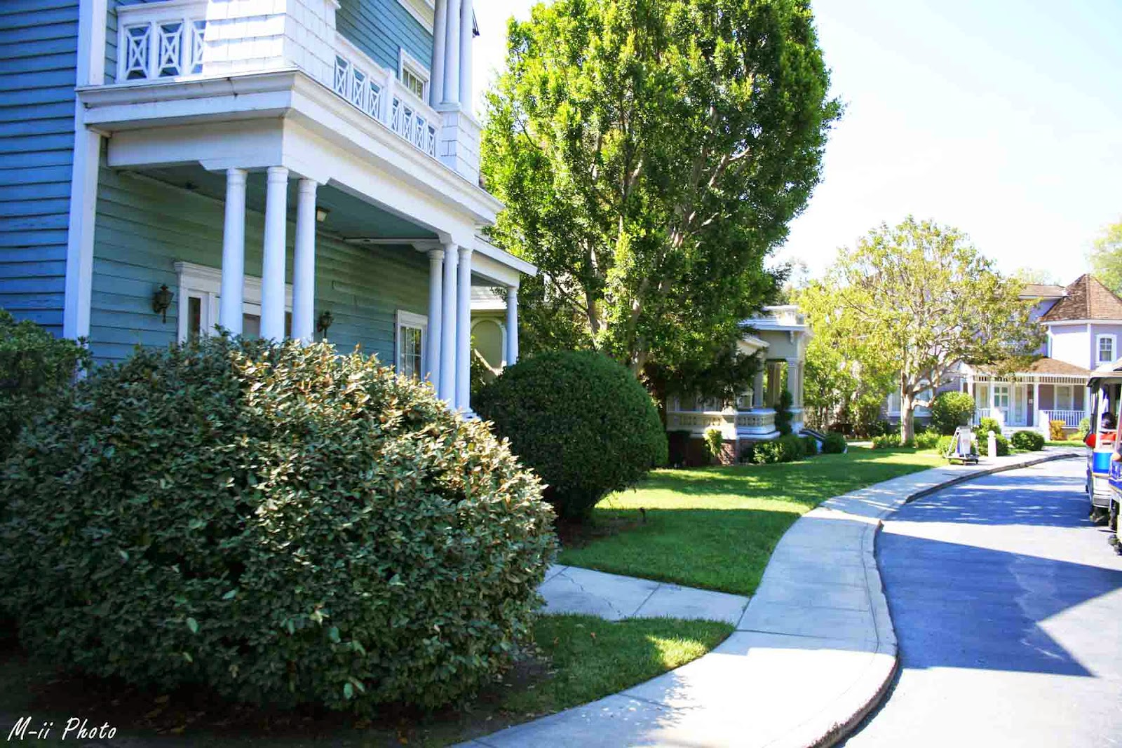 Wisteria lane Desperate Housewives Universal Studios Hollywood