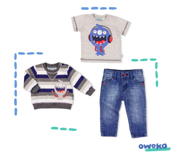 Moda primavera verano 2018 ropa para nenes.
