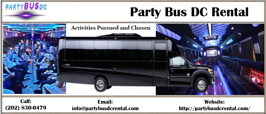 Party Bus DC Rental: December 2018