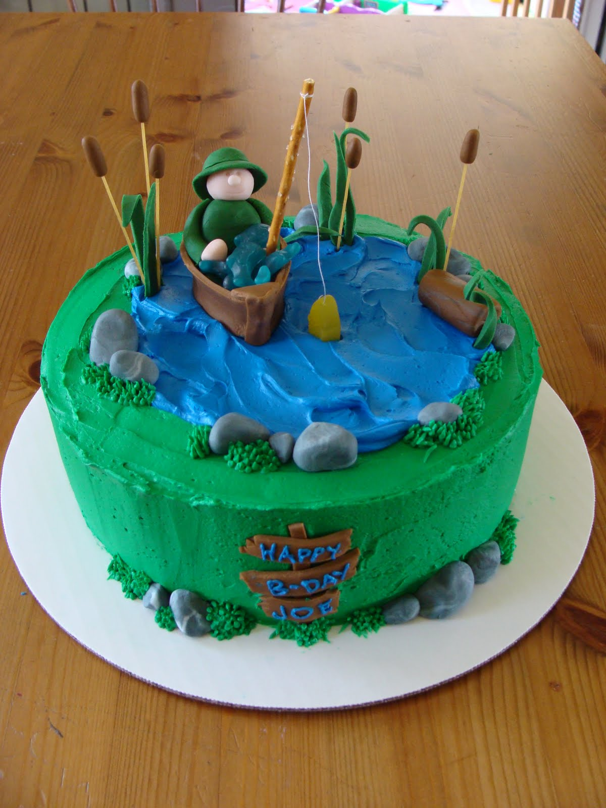 Sweet Treats By Bonnie Fisherman Cake