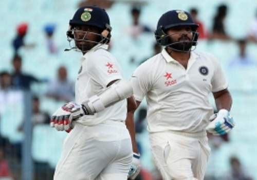 India reach 75/2 at lunch on Day 1 vs New Zealand