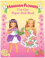 Hawaiian Flowers Cut-Out Paper Doll Book