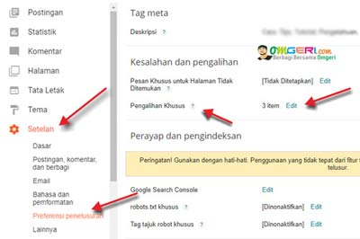 Langkah SEO Merubah URL/LINK Postingan Blogspot Terlanjur Publish