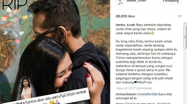 VIRAL Kisah Cinta Pasangan Yang Berakhir Di Surga Ini Bikin Netizen Terenyuh