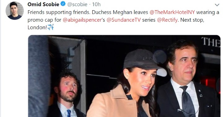3f192bac394 Mad About Meghan  The Duchess Returns to London Following New York Baby  Shower