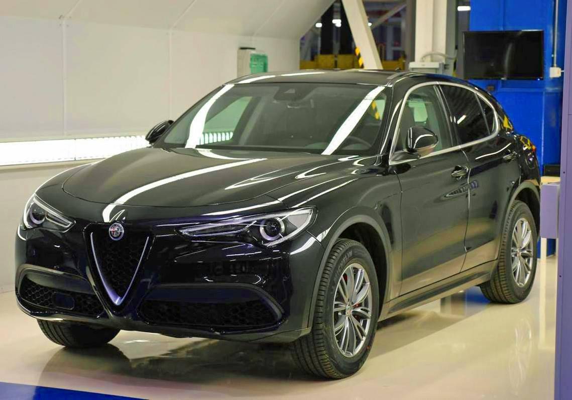 Base Alfa Romeo Stelvio Hits The Streets In Italian Style