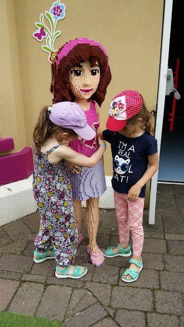 Making friends at LegoLand