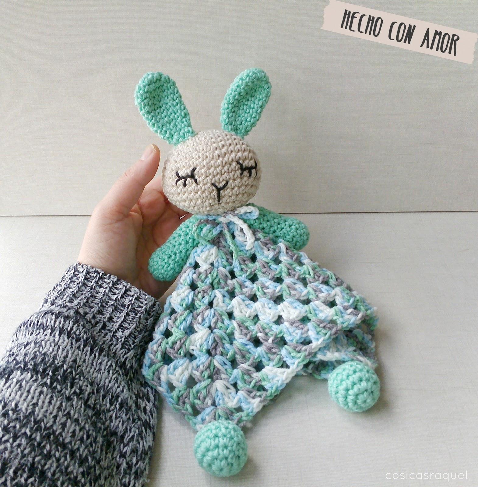 Cosicasraquel manta de apego crochet - Mantas a crochet ...