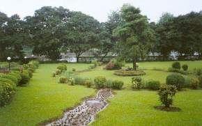 Garden in Silvassa greenery lake boating