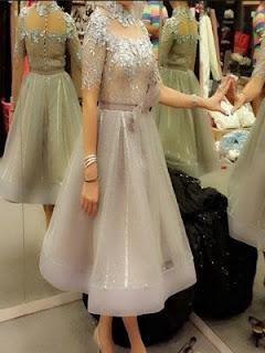 model gaun pesta batik ivan gunawan