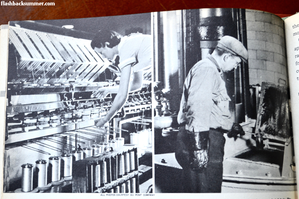 Flashback Summer - 1942: Modern Clothing Depends on Chemical Science - vintage rayon, viscose, cellulose, fashion science