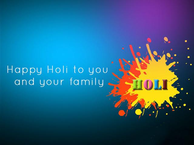 Wish U Happy Holi Wallpaper-Download Wallpaper for free