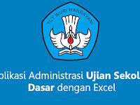 Aplikasi Administrasi Ujian Sekolah Dasar dengan Excel