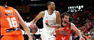 Valencia Basket 82-86 Real Madrid : Victoria en La Fonteta
