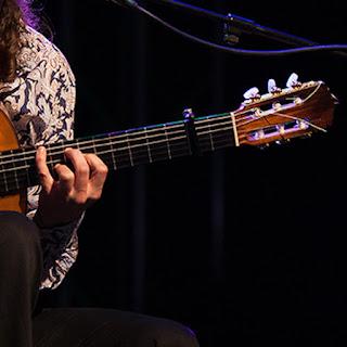 Der Flamenco Gitarrist Ricardo Volkert