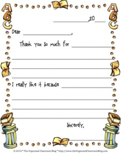 Template Thank You Note. formula which is a wedding for writing a ...