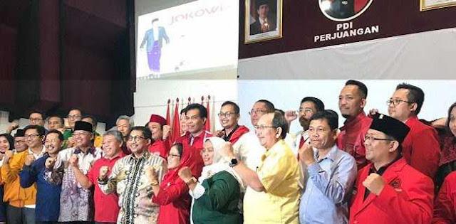 Polemik Tim Kampanye Jokowi-Ma'ruf di Jatim, Kader Golkar: Jangan Asal Catut Nama!