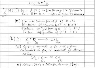 MATOKEO YA MITIHANI - Examination Results: FORM FOUR PAST PAPER
