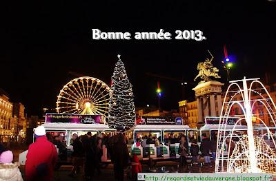 Bonne année 2013  à Clermont-Ferrand.