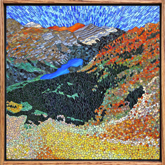 Kasia Mosaics: Ptarmigan Tunnel Trail - Glacier National Park