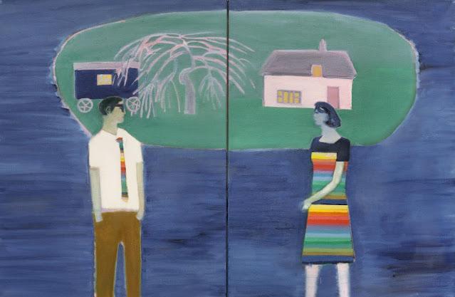 Tom Hammick arte, pinturas