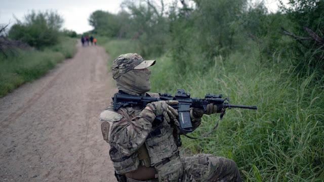 El Pentágono enviará cientos de militares a la frontera de EE.UU. con México