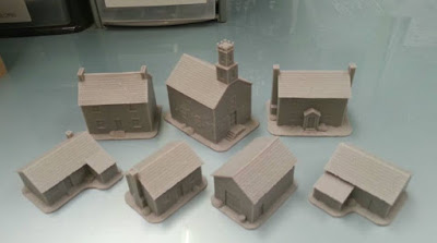 Preview Of Some New ACW Buildings from Pendraken Miniatures