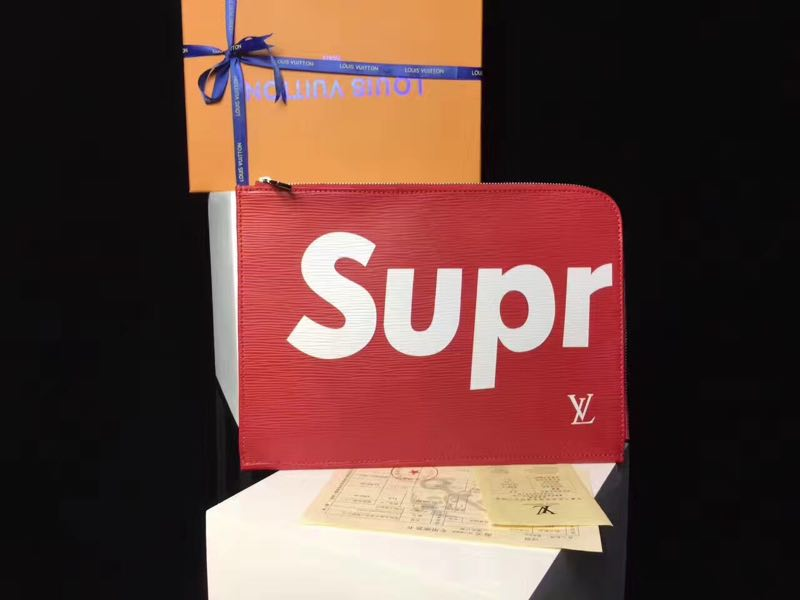 ca02a76e3a8 Fkers999  Louis Vuitton x Supreme Clutch