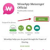Cara Paling Mudah Mendapatkan Dollar dari Aplikasi WowApp