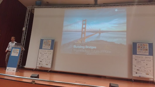 Plone Conf 2017 Day 2: Timo Stollenwerk: Building Bridges - The Headless Future of Plone