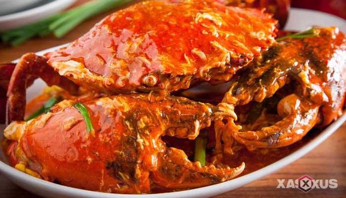 Resep cara membuat kepiting saus asam manis pedas