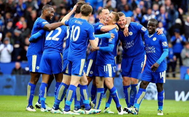 Los sponsors del Leicester festejan el título