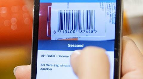 圖說: AH 的 Appie App 可掃描產品後直接傳給櫃檯結帳,降低重新掃描等待時間,圖片來源: AH 網站截圖