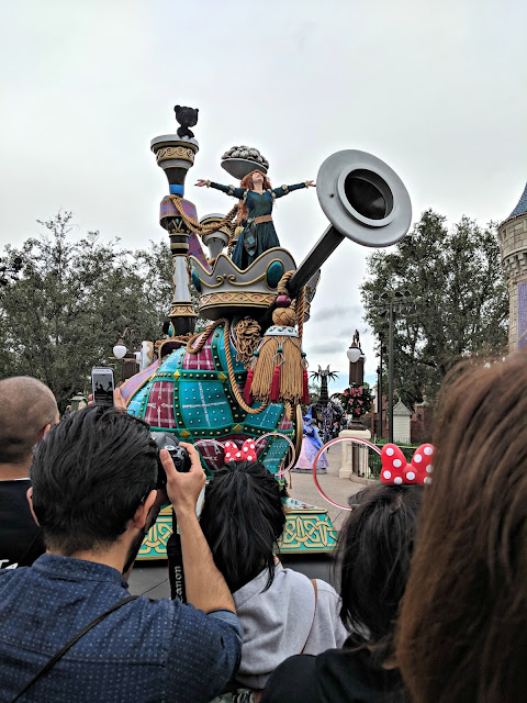 Celebrating my Birthday at the Magic Kingdom - Magic Kingdom Parade - Merida