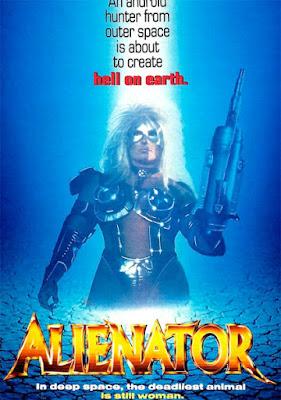 Poster - Alienator (1990)