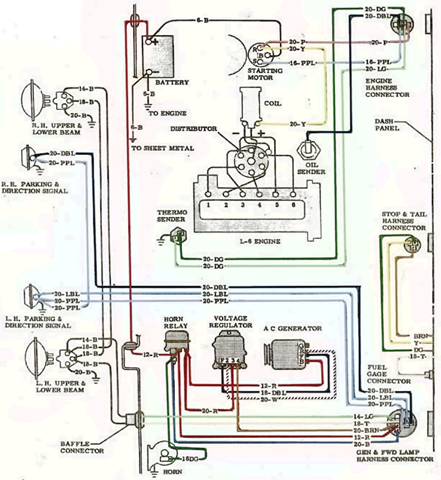 wiring diagrams gmc truck 1964 electrical system. Black Bedroom Furniture Sets. Home Design Ideas