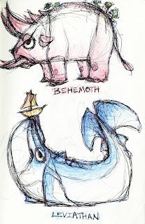 Leviathan Behemoth Ziz - iwate-kokyo