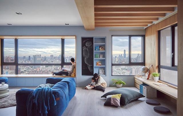 Заоблачные семейные апартаменты в Тайване