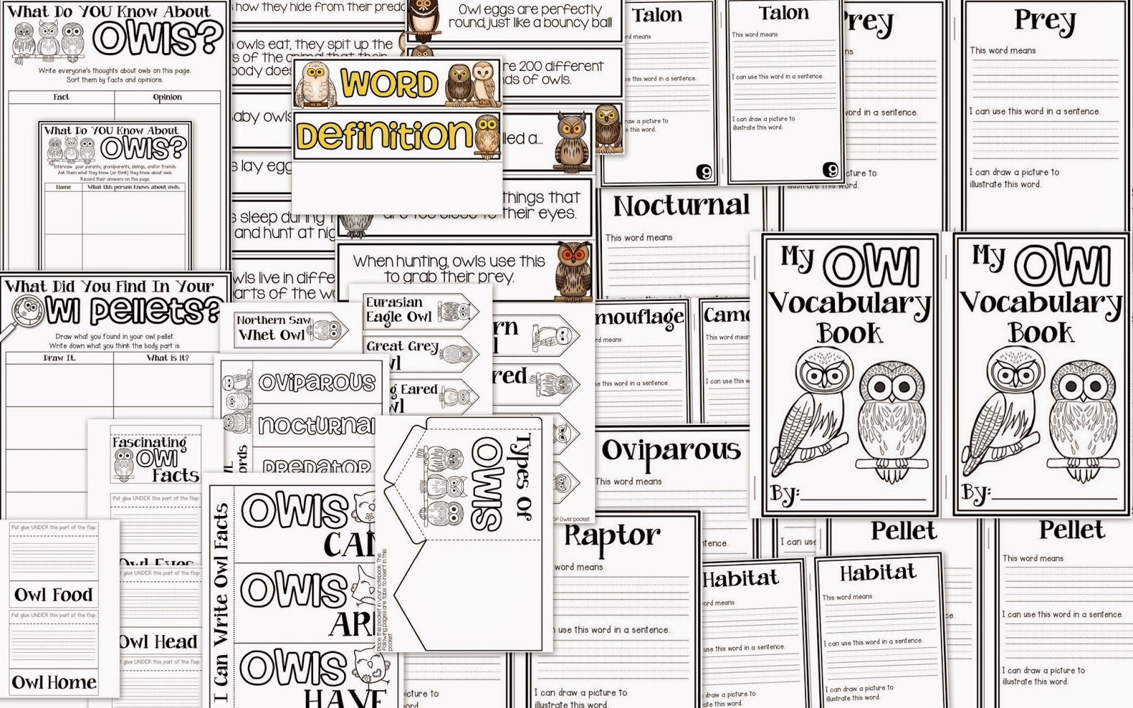 Vocabulary Matching Game Words Amp Definitions