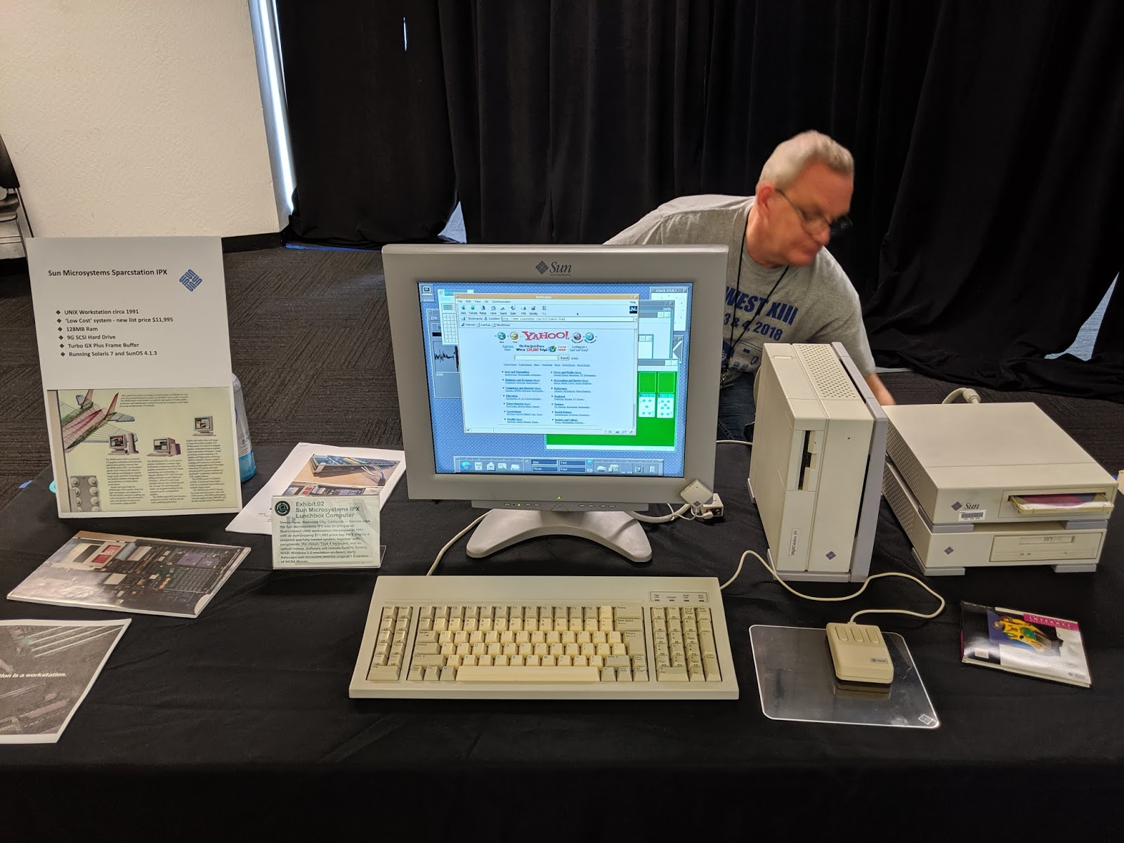 Power stuff and other stuff at Vintage Computer Festival