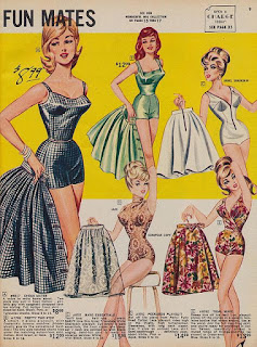 Frederick's of Hollywood, pinup, pinup 1950,
