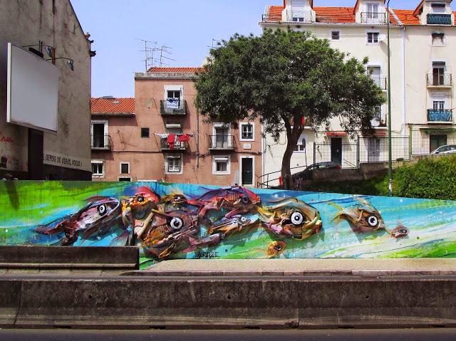 Bordalo II - Sokak Sanatı